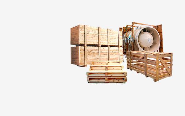Pallet blocks or chipboard blocks